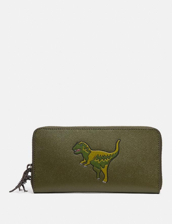 Coach Accordion Wallet With Rexy Rexy Green New Featured Rexy Collection