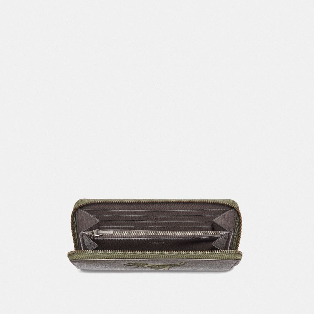 Coach ACCORDION WALLET WITH REXY Alternate View 1