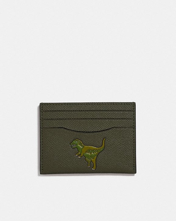 Coach CARD CASE WITH REXY