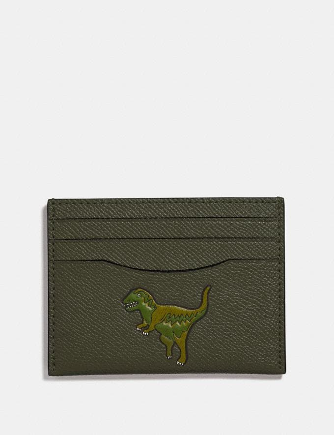 Coach Card Case With Rexy Rexy Green New Featured Rexy Collection