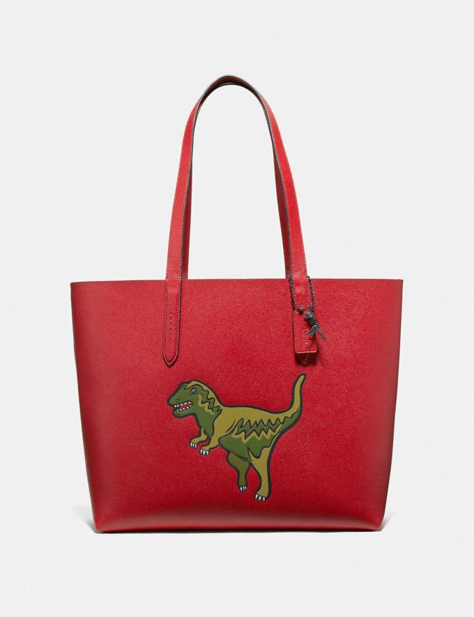 Coach Highline Tote With Rexy Rexy Red/Black Copper Personalise Personalise It Monogram For Her
