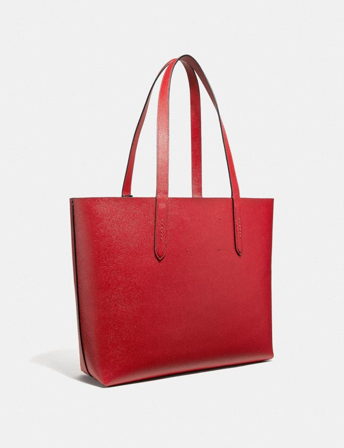 Coach Highline Tote With Rexy Rexy Red/Black Copper Personalise Personalise It Monogram For Her Alternate View 1