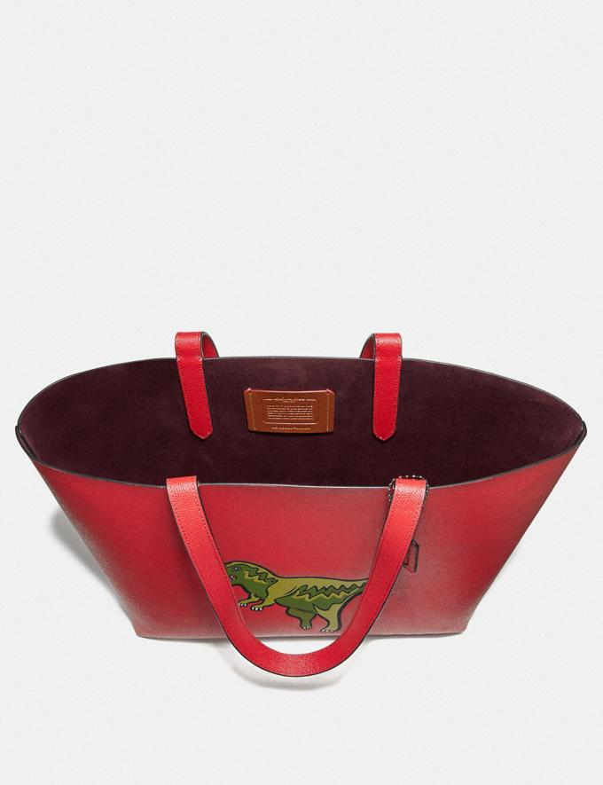 Coach Highline Tote With Rexy Rexy Red/Black Copper Personalise Personalise It Monogram For Her Alternate View 2