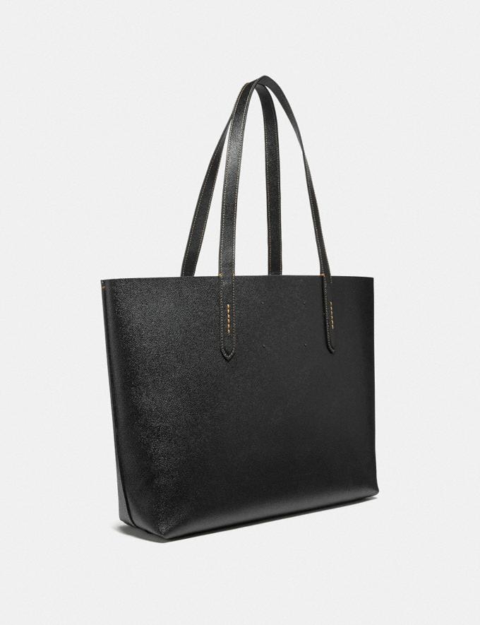 Coach Highline Tote With Rexy Black/Black Copper New Featured Rexy Collection Alternate View 1