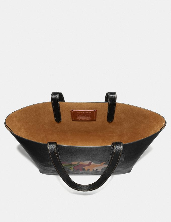 Coach Highline Tote With Rexy Black/Black Copper New Featured Rexy Collection Alternate View 2