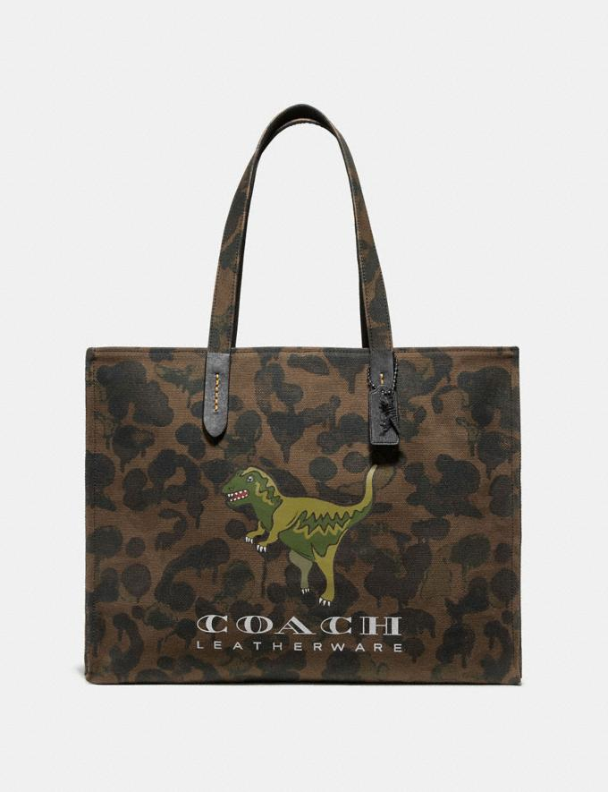 Coach Tote 42 With Rexy Military Wild Beast/Black Copper SALE Men's Sale