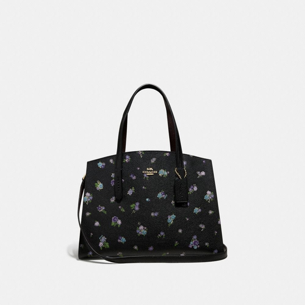 CHARLIE CARRYALL WITH FLORAL PRINT