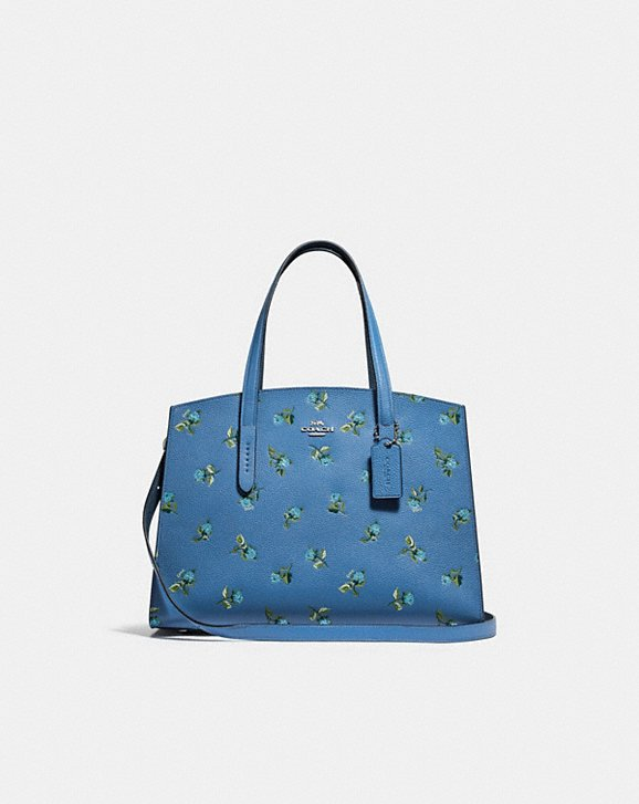 Coach CHARLIE CARRYALL WITH FLORAL PRINT
