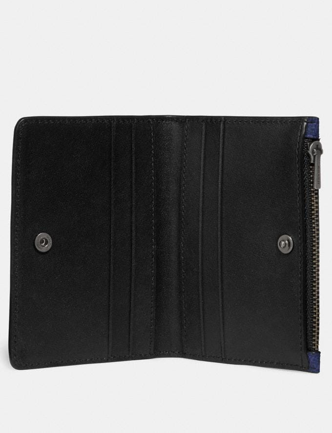 Coach Bifold Card Case in Signature Canvas Midnight Gifts For Him Under $300 Alternate View 1