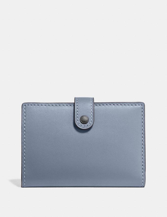Coach Small Bifold Wallet Pewter/Mist Women Wallets & Wristlets Small Wallets