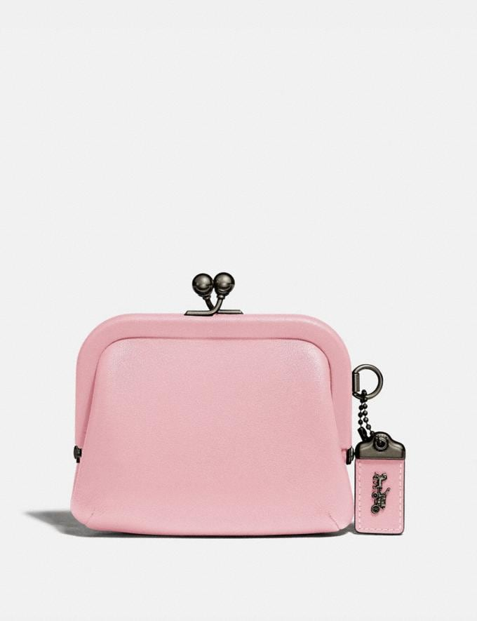 Coach Kisslock Coin Purse Pewter/Aurora SALE 30% off Select Full-Price Styles Women's