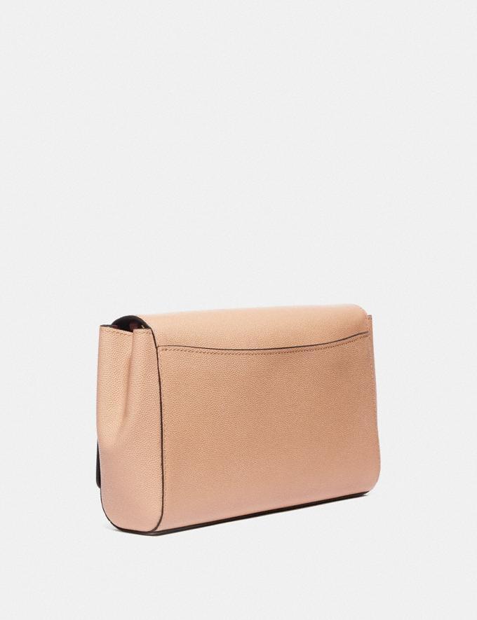 Coach Small Alexa Brass/Beechwood Women Bags Clutches Alternate View 1