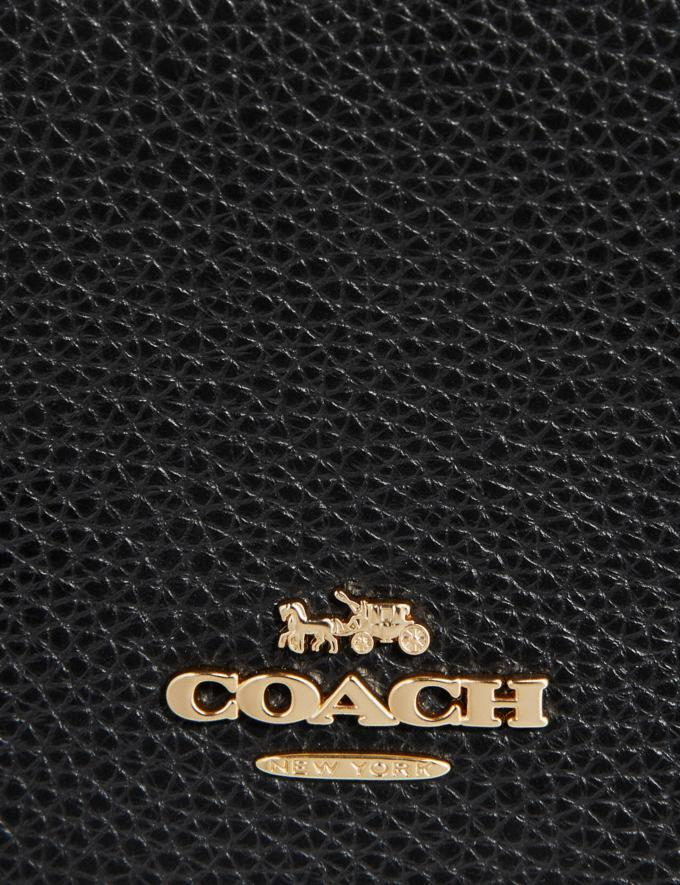 Coach Convertible Belt Bag Black/Gold Women Bags Belt Bags Alternate View 6