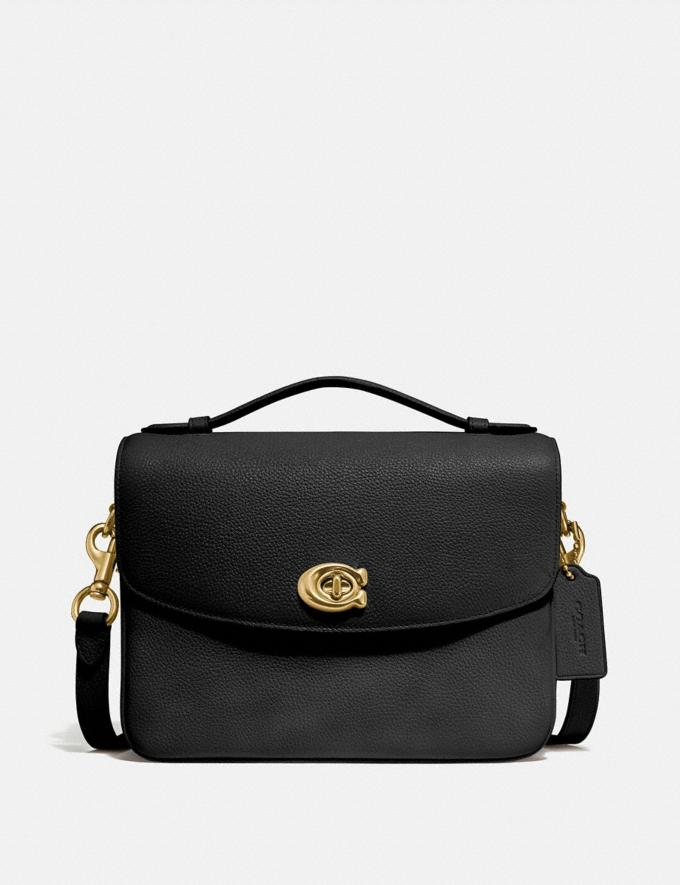Coach Cassie Crossbody Black/Brass Personalise For Her Bags