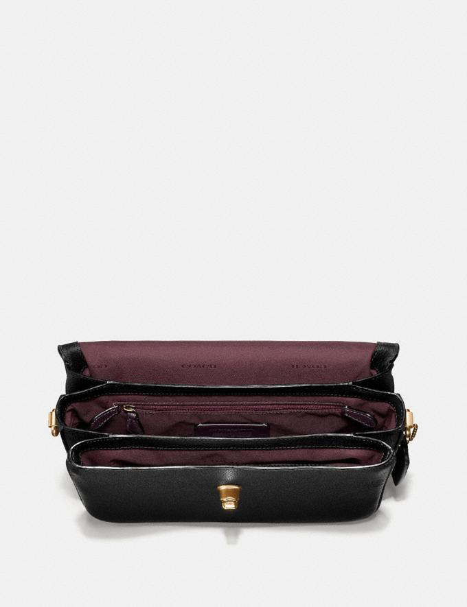 Coach Cassie Crossbody Black/Brass Gifts For Her Under $500 Alternate View 3