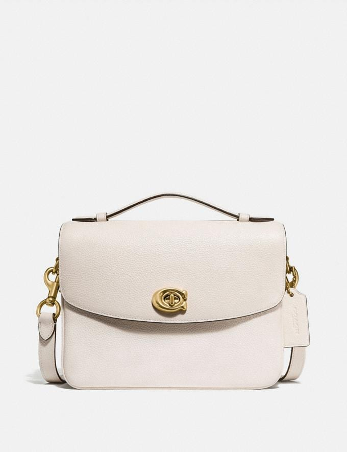 Coach Cassie Crossbody Chalk/Brass New Women's New Arrivals View All