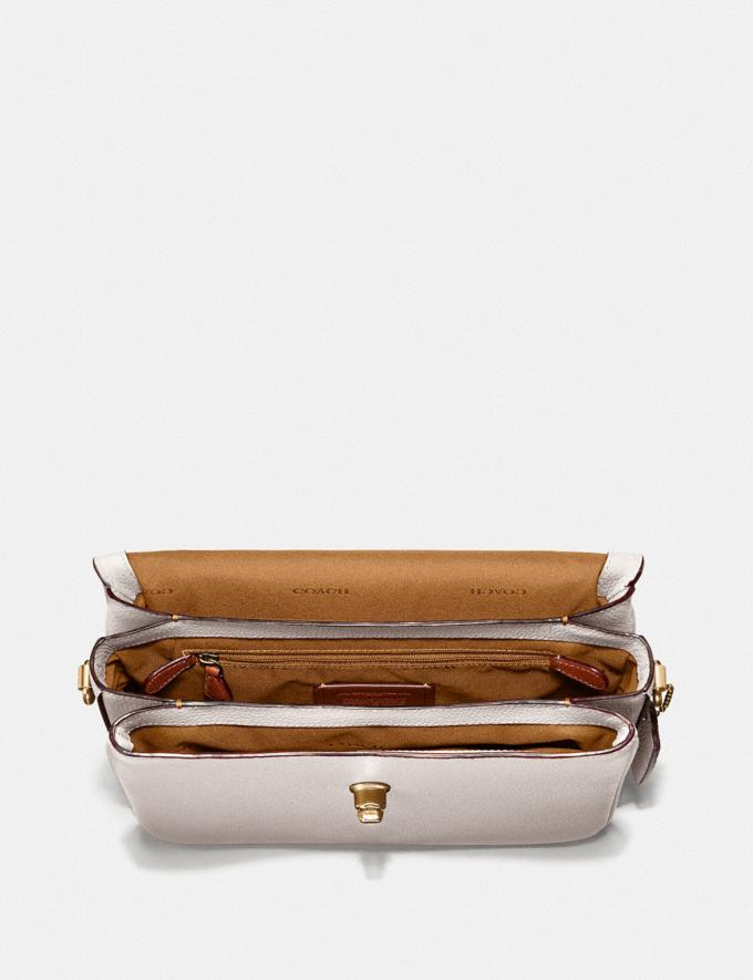 Coach Cassie Crossbody Chalk/Brass New Women's New Arrivals View All Alternate View 2