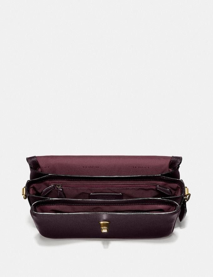 Coach Cassie Crossbody Brass/Oxblood Gifts For Her Bestsellers Alternate View 3