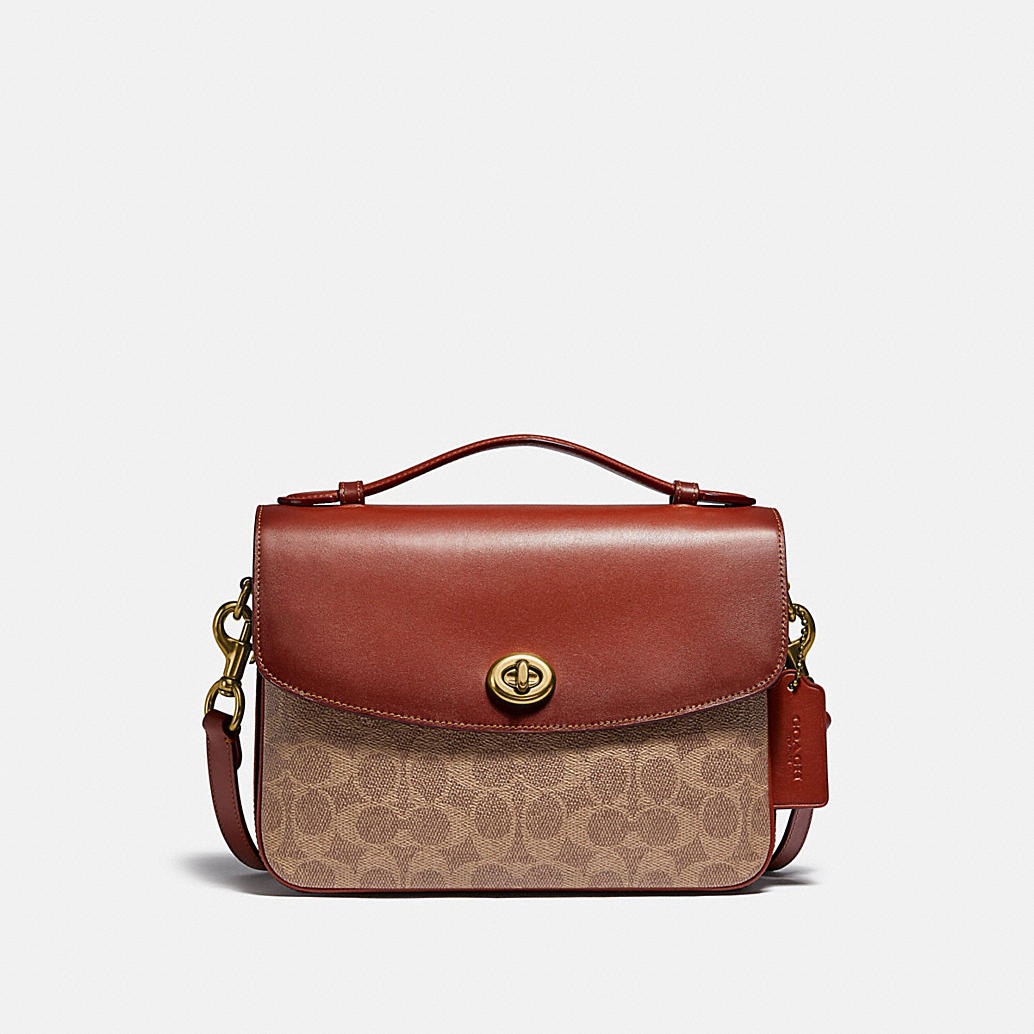 Cassie Crossbody In Signature Canvas by Coach