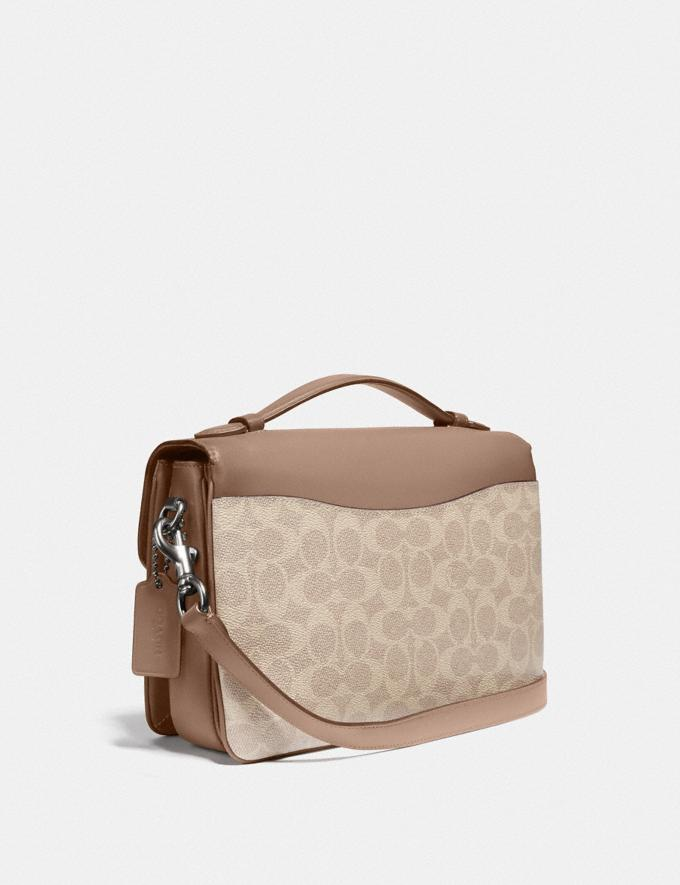 Coach Cassie Crossbody in Signature Canvas Lh/Sand Taupe New Featured Signature Styles Alternate View 1