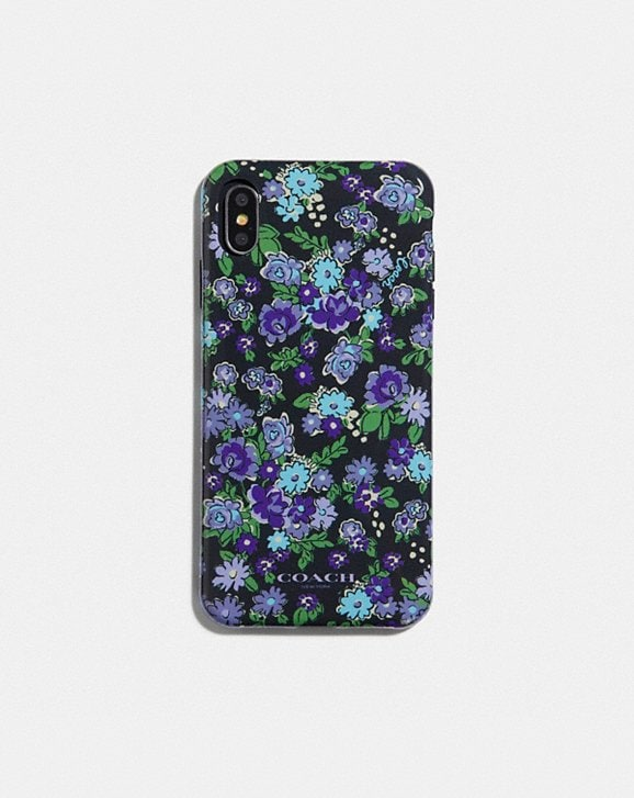 Coach IPHONE XS MAX CASE WITH POSEY CLUSTER PRINT