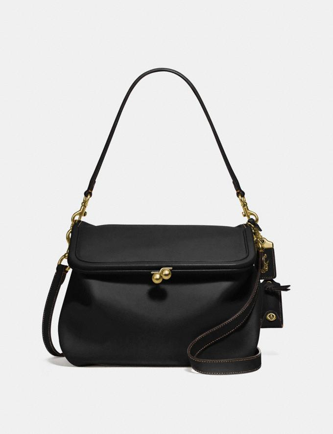 Coach Rider Bag Black/Brass New Women's New Arrivals Collection