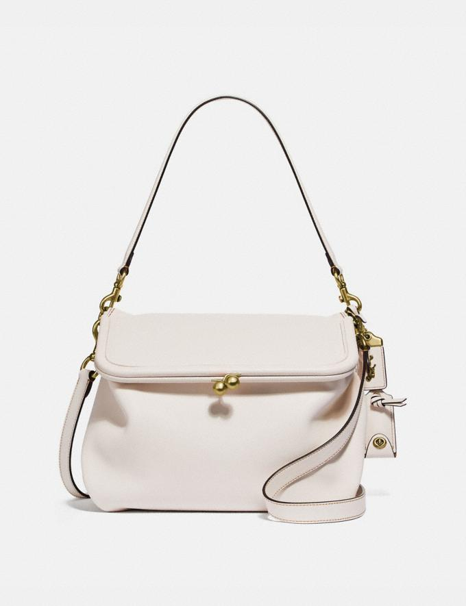 Coach Rider Bag Chalk/Brass New Women's New Arrivals Collection