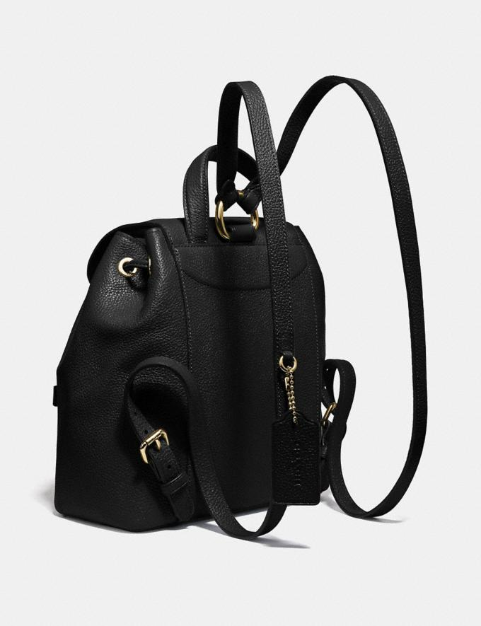 Coach Evie Backpack 22 Black/Brass New Featured Online Exclusives Alternate View 1