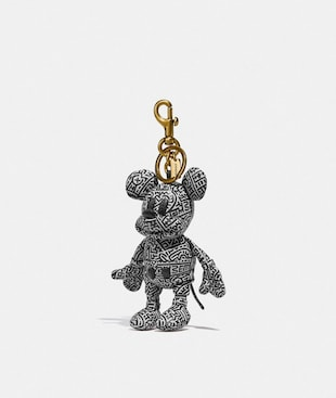 BRELOQUE DE SAC COLLECTOR DISNEY MICKEY MOUSE X KEITH HARING
