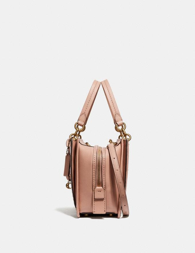 Coach Dreamer With Colorblock Deco Quilting and Rivets Nude Pink Multi/Brass New Featured Online Exclusives Alternate View 1