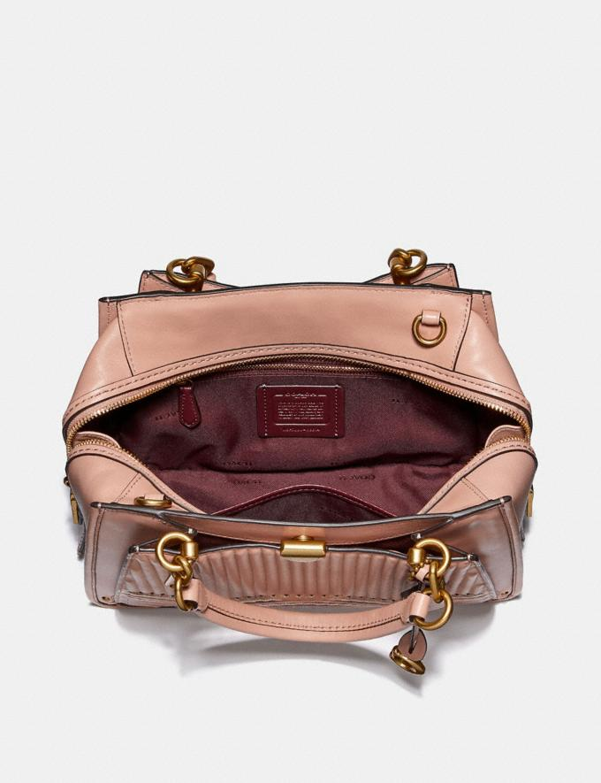 Coach Dreamer With Colorblock Deco Quilting and Rivets Nude Pink Multi/Brass New Featured Online Exclusives Alternate View 2