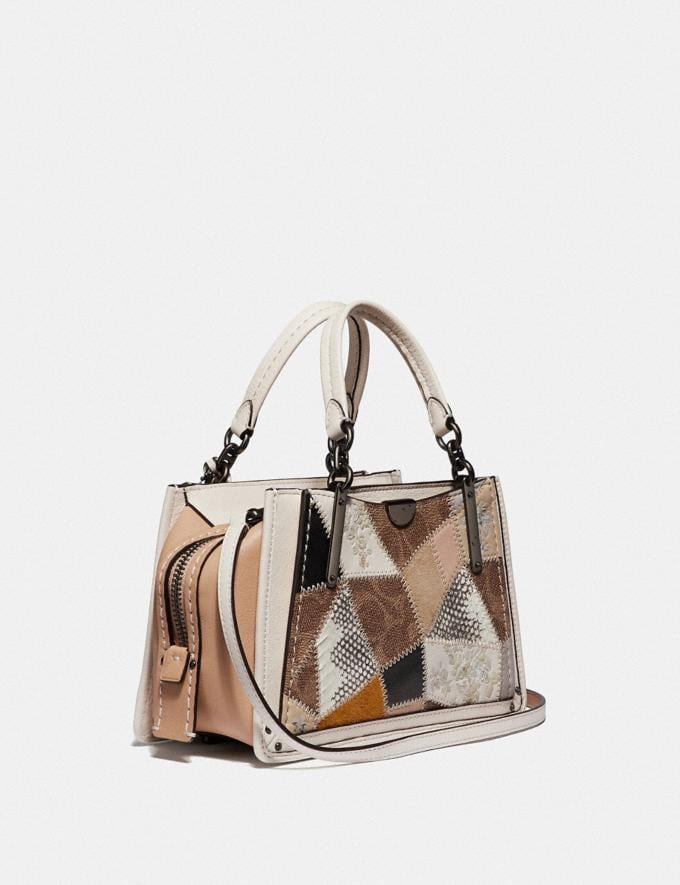 Coach Dreamer 21 With Signature Patchwork Tan Beechwood Multi/Pewter New Featured Selena Gomez in Coach Alternate View 1