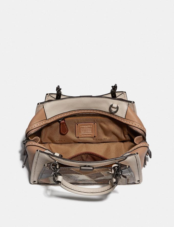 Coach Dreamer 21 With Signature Patchwork Tan Beechwood Multi/Pewter New Featured Selena Gomez in Coach Alternate View 2