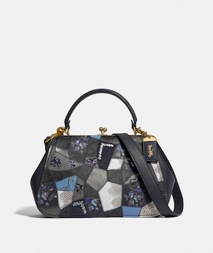 FRAME BAG WITH SIGNATURE PATCHWORK
