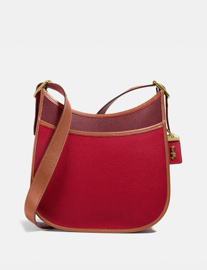 Coach Emery Crossbody in Colorblock Brass/Red Apple Multi New Women's New Arrivals Bags