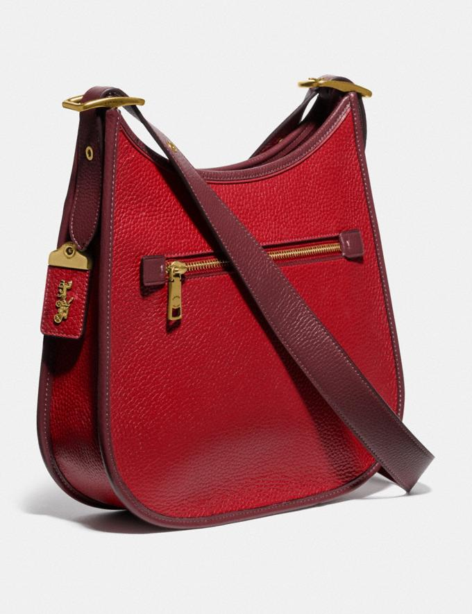 Coach Emery Crossbody in Colorblock Brass/Red Apple Multi New Women's New Arrivals Bags Alternate View 1