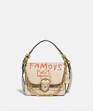 COACH X JEAN-MICHEL BASQUIAT BEAT SHOULDER BAG 18