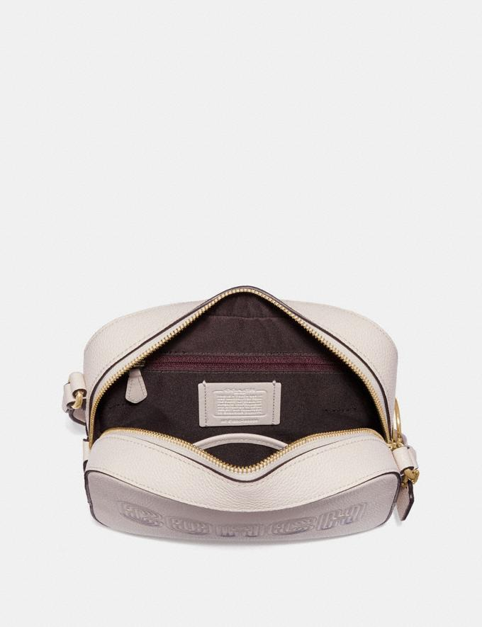 Coach Camera Bag With Coach Print Chalk/Gold Cyber Monday Women's Cyber Monday Sale Bags Alternate View 2