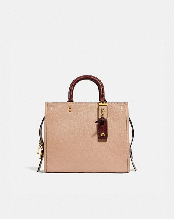 Coach ROGUE IN COLORBLOCK WITH OSTRICH DETAIL