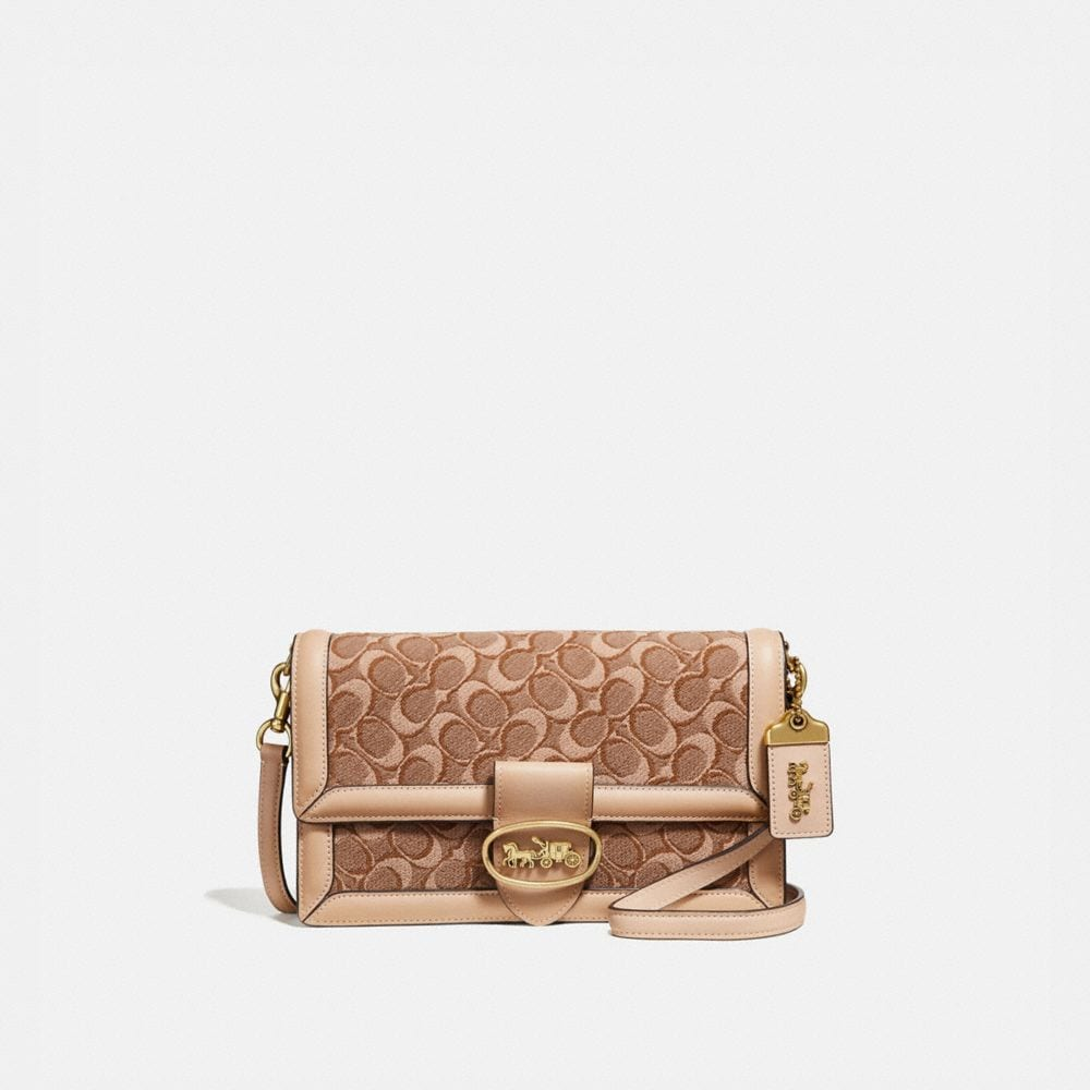 Coach Riley in Signature Jacquard