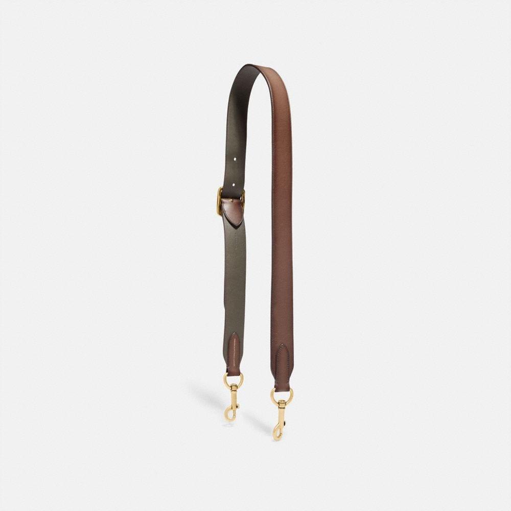 saddle/pine/brass
