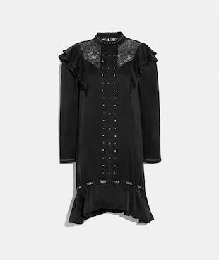 WASHED SILK DRESS