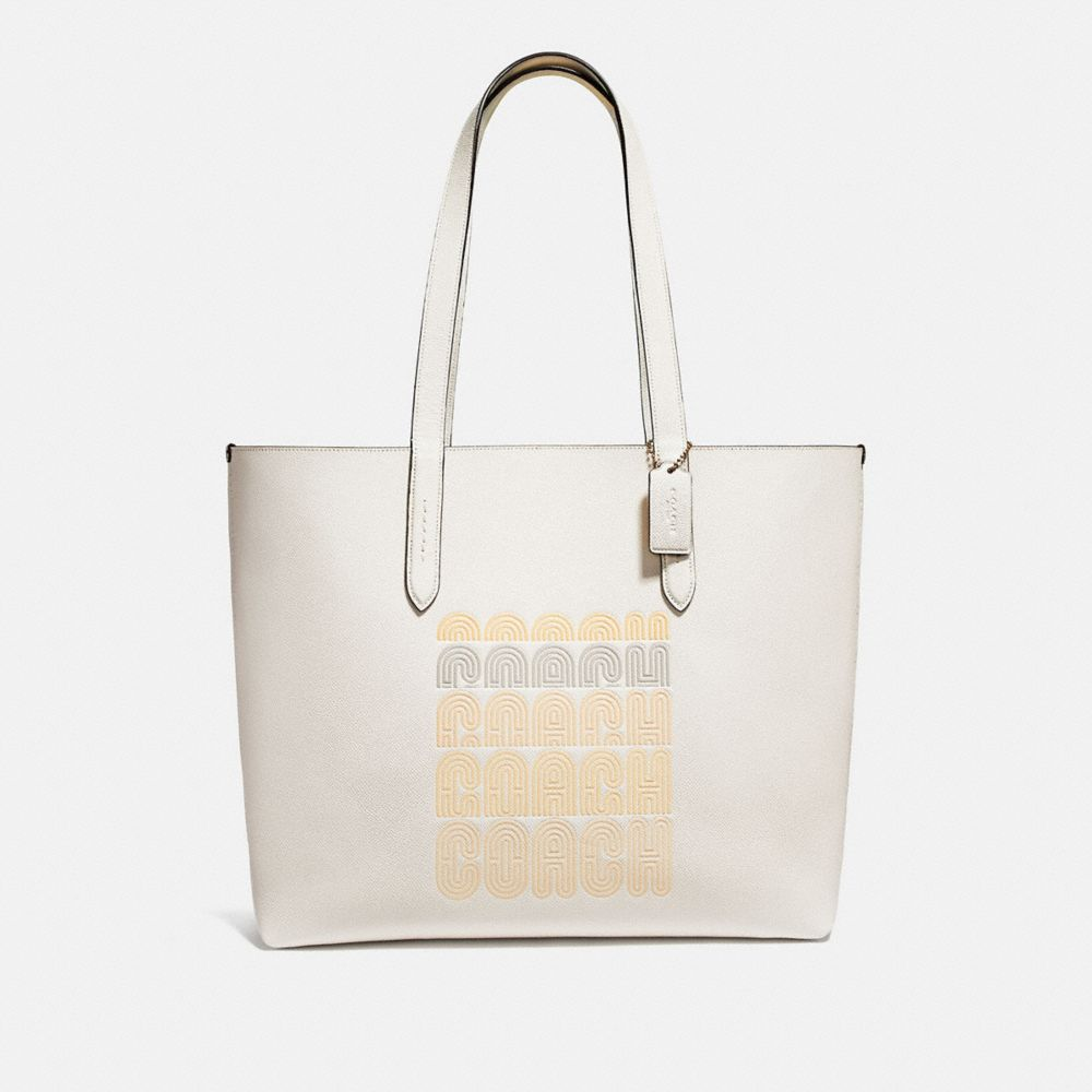 Coach Highline Tote With Coach Print
