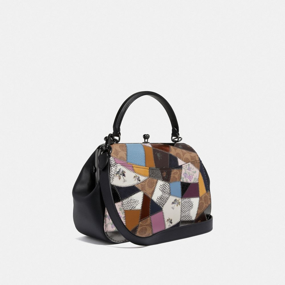 Coach Frame Bag With Patchwork Alternate View 1