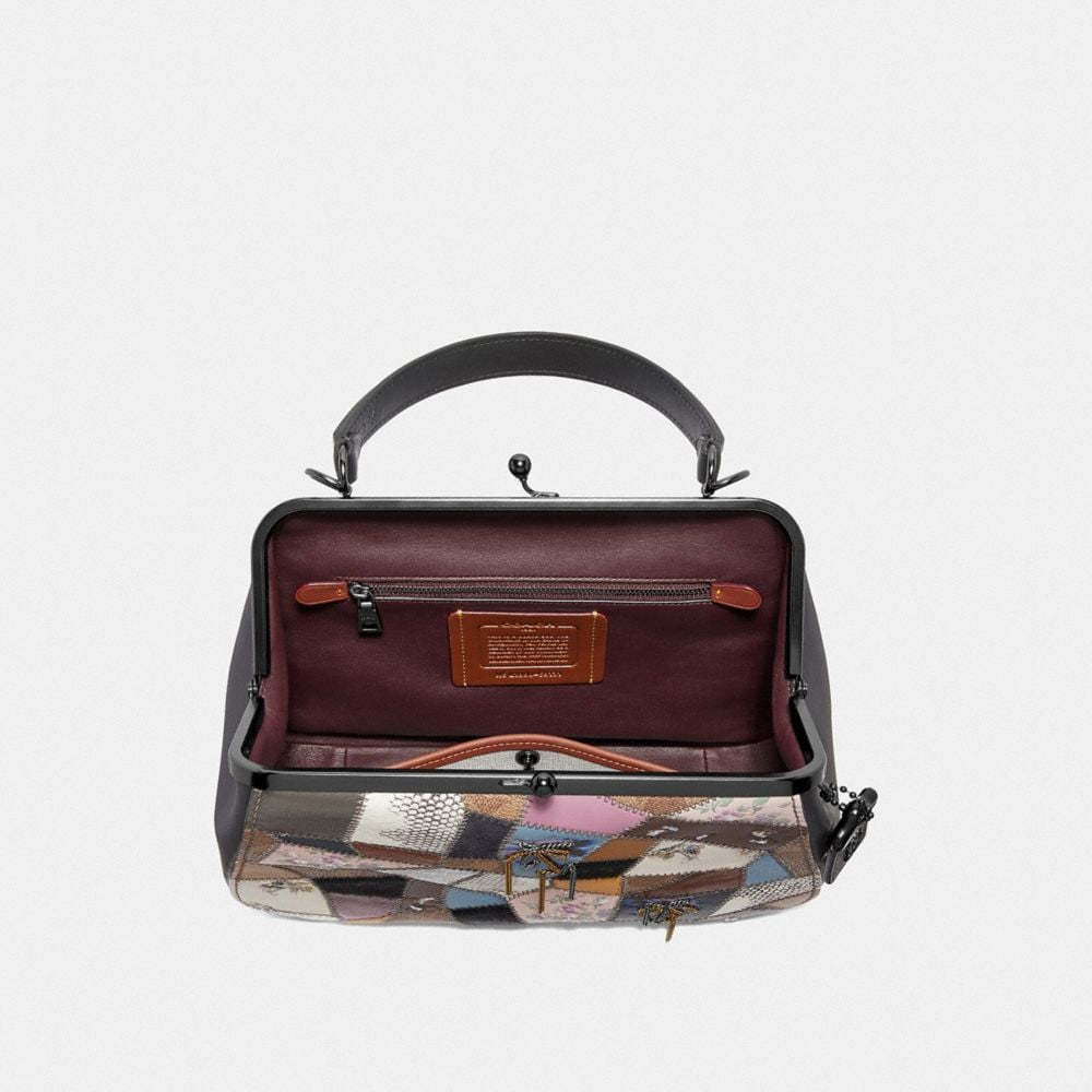 Coach Frame Bag With Patchwork Alternate View 2