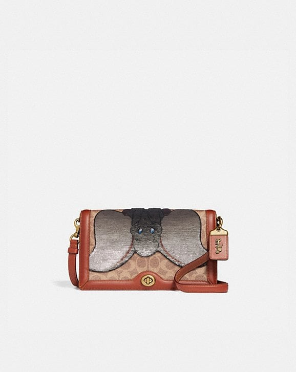 Coach DISNEY X COACH SIGNATURE RILEY WITH EMBELLISHED DUMBO