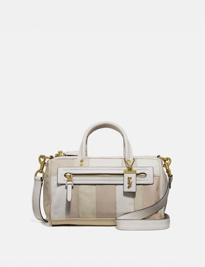 Coach Shuffle in Colorblock Ivory Multi/Brass VIP SALE Women's Sale Bags