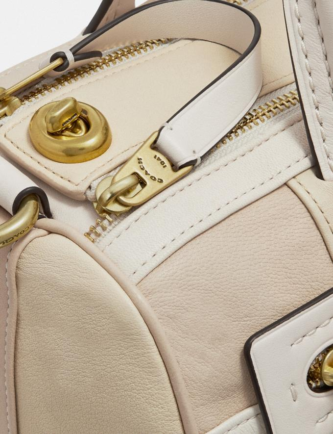 Coach Shuffle in Colorblock Ivory Multi/Brass VIP SALE Women's Sale Bags Alternate View 4