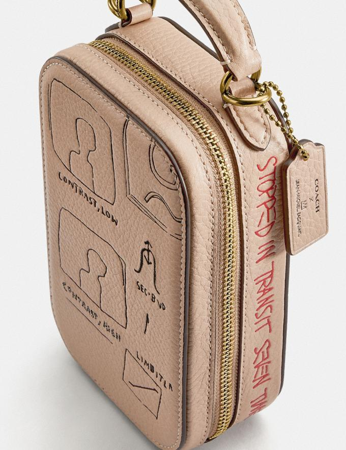 Coach Coach X Jean-Michel Basquiat Alie Camera Bag Brass/Ivory Women Bags Shoulder Bags Alternate View 5