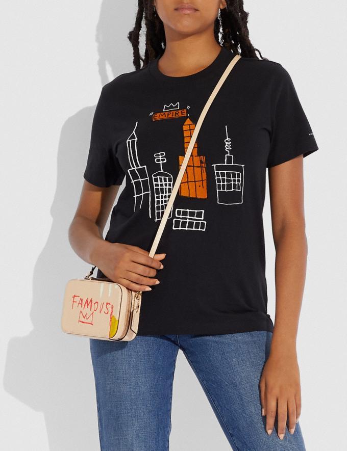 Coach Marsupio Alie Coach X Jean-Michel Basquiat Ottone/Avorio Donna Borse Borse a cintura Visualizzazione alternativa 3